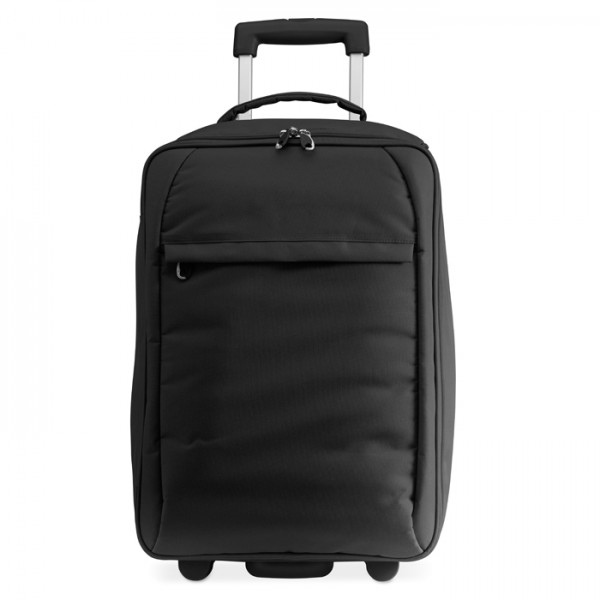 Tou Kerekes bőrönd, fekete